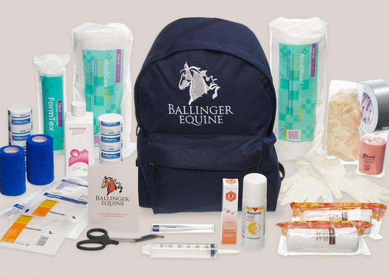 Ballinger Equine first aid kit