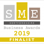 Hertfordshire SME Business Awards finalist